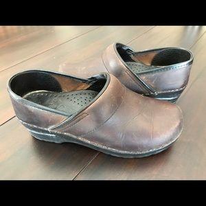 Dansko Shoes - Dansko Clogs in Brown